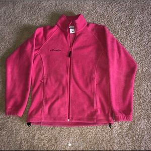 Pink Columbia Fleece